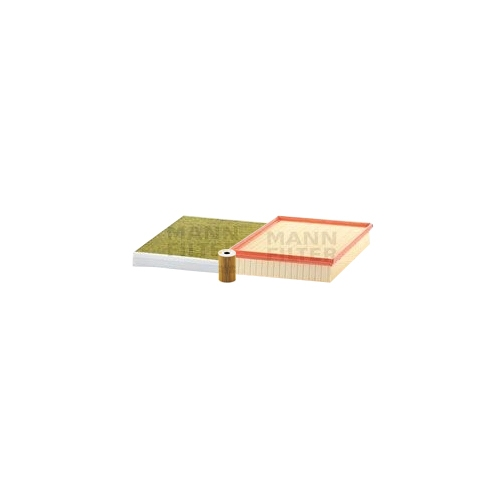 MANN-FILTER Ölfilter, Luftfilter und Polyphenol Innenraumluftfilter VSF0442MAN