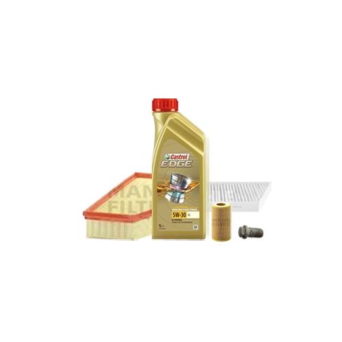 Inspektionskit Ölfilter, Luftfilter und Innenraumfilter + Motoröl 7l 5W-30 LL