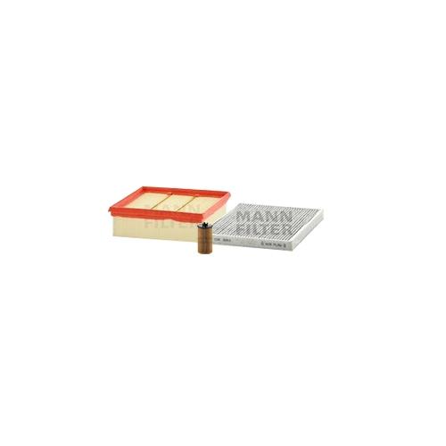 MANN-FILTER Ölfilter, Luftfilter und Aktivkohle Innenraumluftfilter VSF0349MAN