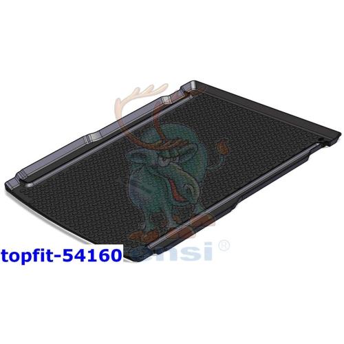 RENSI 54160 Kofferraumschalenmatte Gewicht 1500 g