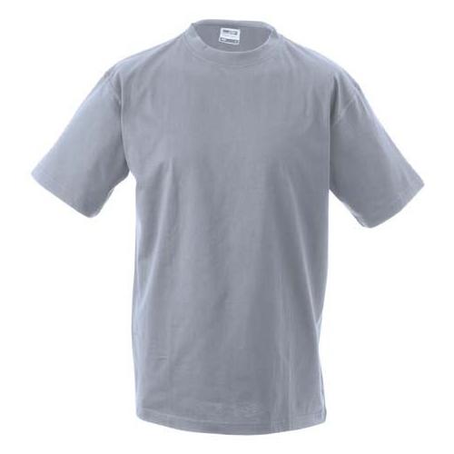 JAMES & NICHOLSON JN002 Men's Comfort T-Shirt, gray, size L
