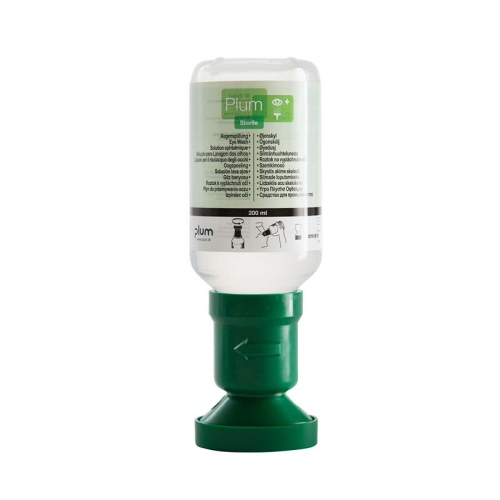 PLUM 4691 Augenspülflasche gefüllt, Inhalt 200 ml
