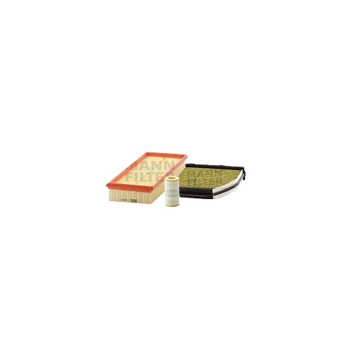 MANN-FILTER Ölfilter, Luftfilter und Polyphenol Innenraumluftfilter VSF0400MAN