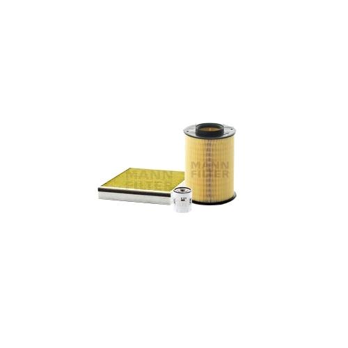MANN-FILTER Ölfilter, Luftfilter und Polyphenol Innenraumluftfilter VSF0359MAN