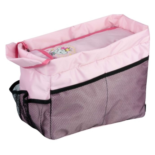 Back seat organizer Lilly Dog pink