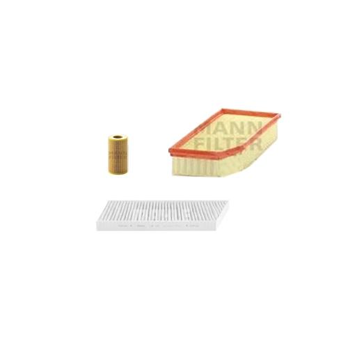 MANN-FILTER Filter Satz, Öl, Luft- und Innenraum- Aktivkohle Filter VSF0035MAN