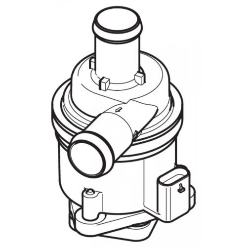 EBERSPÄCHER 252652250000 Wasserpumpe (vormontiert) 12V für Hydronic S3 4/5 (B+D)