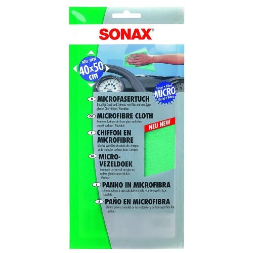 Sonax 04161000 Microfaser Tuch, 40x50 cm