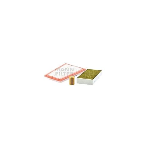 MANN-FILTER Ölfilter, Luftfilter und Polyphenol Innenraumluftfilter VSF0314MAN