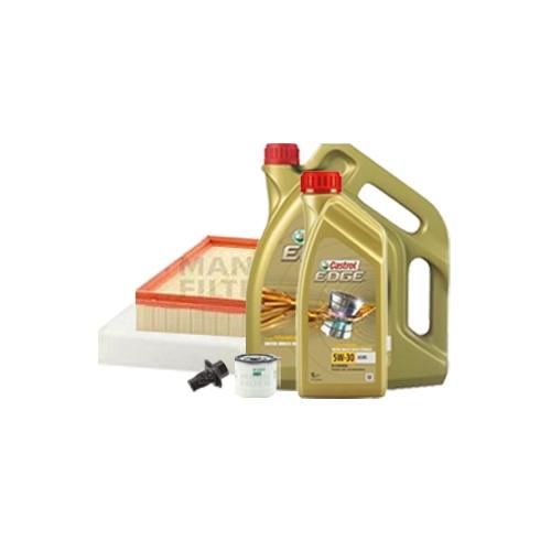 Inspektionskit Ölfilter, Luftfilter und Innenraumfilter + Motoröl 5W-30 6L