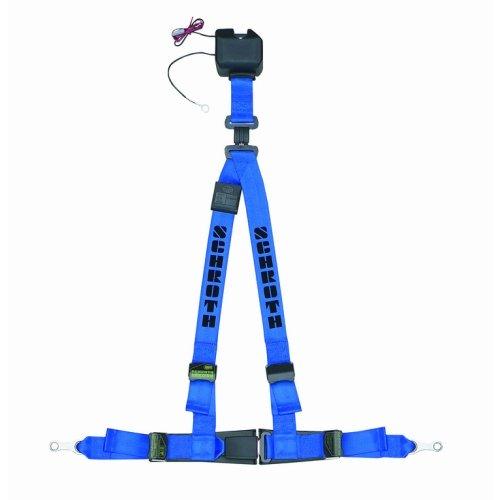 Schroth Safety Automatik Gurt ASM Autocontrol II blau-schwarz rechts 11511