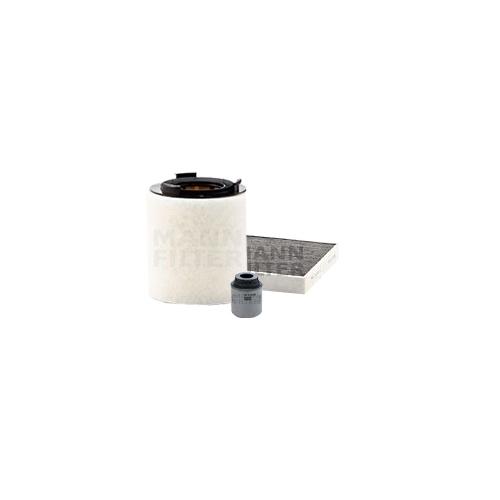 MANN-FILTER Ölfilter, Luftfilter und Aktivkohle Innenraumluftfilter VSF0375MAN