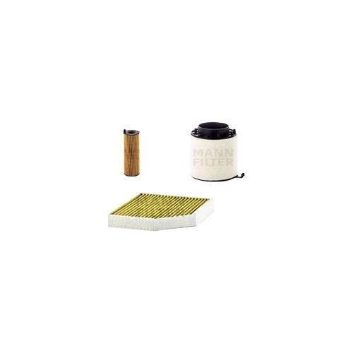 MANN-FILTER Filter Satz, Öl, Luft- und Innenraum-Filter Polyphenol VSF0061MAN