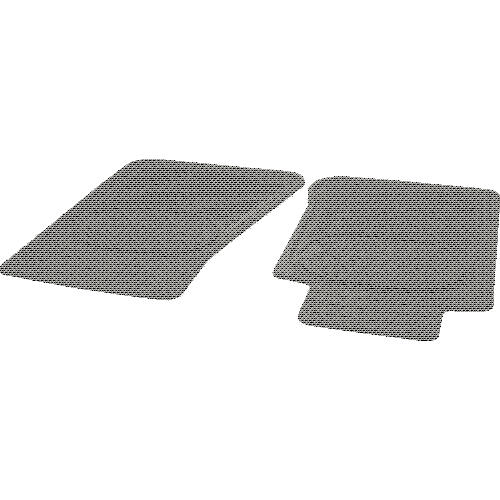 Cartrend rubber floor mats Set Polar C 454082