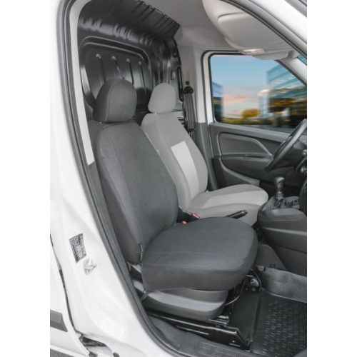 WALSER Sitzbezüge für Fiat Doblo 2 Einzelsitz vorne Beifahrer Art.Nr.: 10550
