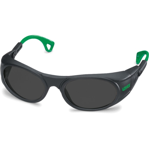 Uvex 91116.045 goggles Lens PC gray, black / green, protection 5