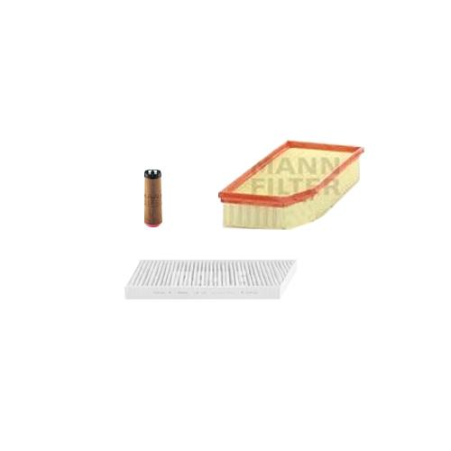 MANN-FILTER Filter Satz, Öl, Luft- und Innenraum- Aktivkohle Filter VSF0038MAN