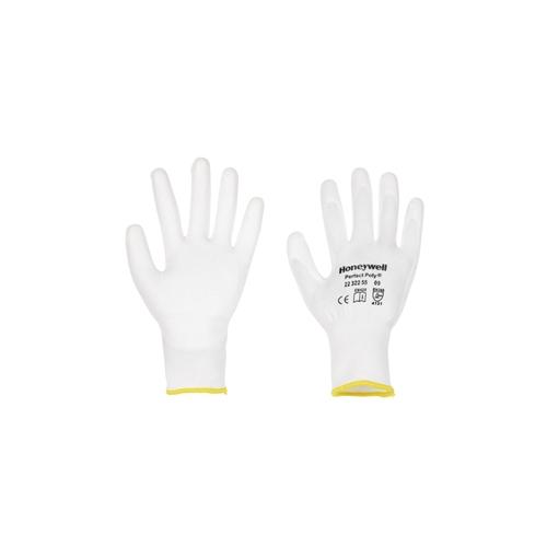 HONEYWELL Perfect Poly White Schutzhandschuh, Größe 6 2232255-06