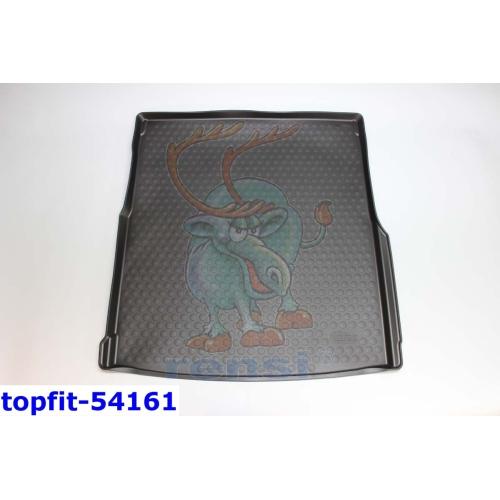 RENSI 54161 Kofferraumschalenmatt mit Ladeboden Gewicht 1500 g