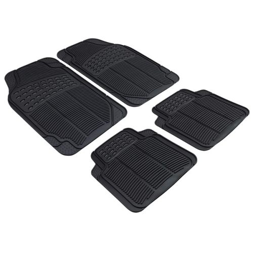 Spartakus plus rubber mat - 4 pieces and can be cut to fit