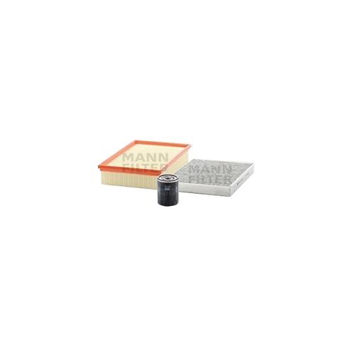 MANN-FILTER Filter Satz, Öl-,Luft und Innenraum Aktivkohle-Filter VSF0237MAN