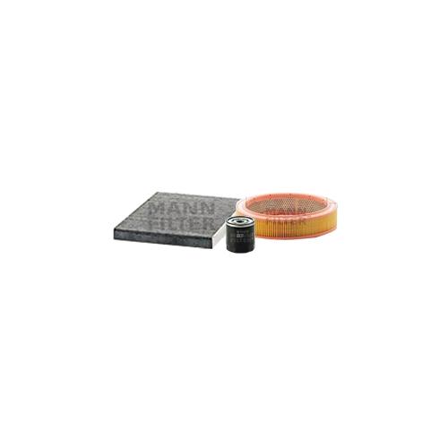 MANN-FILTER Ölfilter, Luftfilter und Aktivkohle Innenraumluftfilter VSF0384MAN