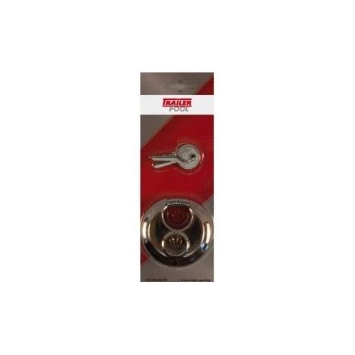 FRIELITZ 012200002-VP disc lock with 2 keys, diameter 70 mm