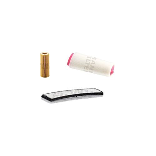 MANN-FILTER Filter Satz, Öl, Luft- und Innenraum-Filter VSF0013MAN