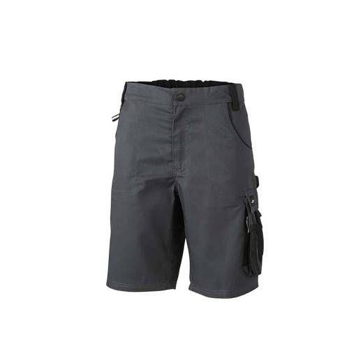 JAMES & NICHOLSON JN835 Short Bermuda shorts, carbon / black, size 52