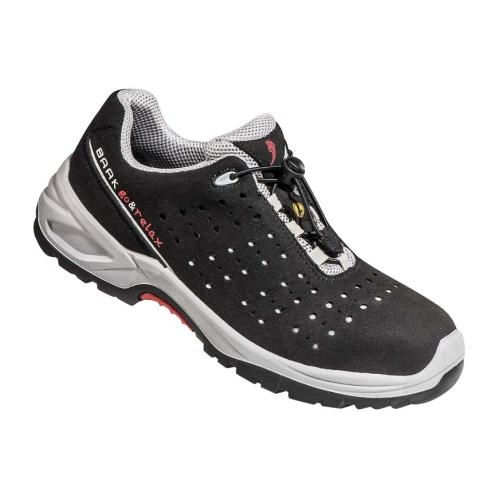 BAAK 7007N Safety shoe S1 Henk, black / gray, size 38