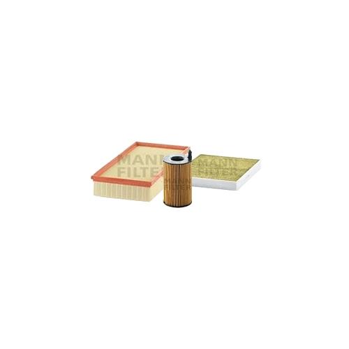 MANN-FILTER Filter Satz, Öl-,Luft und Innenraum-Filter Polyphenol VSF0093MAN