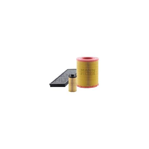 MANN-FILTER Filter Satz, Öl-,Luft und Innenraum Aktivkohle-Filter VSF0155MAN