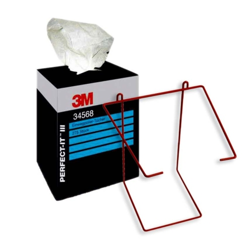 3M 34568 Perfect-It disposable polishing cloths 38mm x 37mm white 1 set (275 pieces)