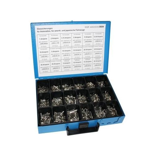 Sortiment Glassicherungen 4499/000/06 8684 1 Stück