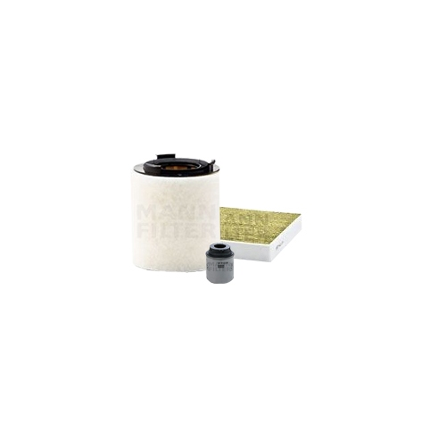 MANN-FILTER Ölfilter, Luftfilter und Polyphenol Innenraumluftfilter VSF0376MAN