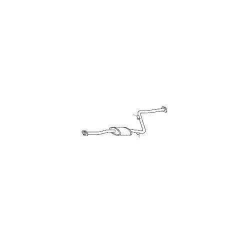 PEDOL 023.751 center silencer