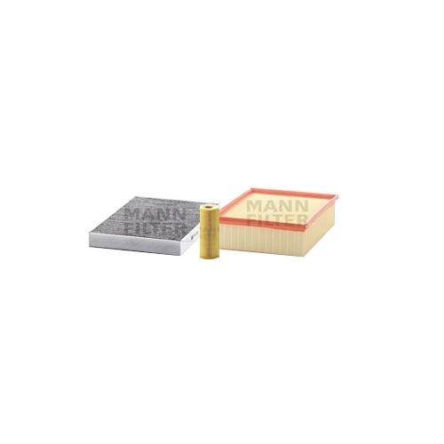 MANN-FILTER Filter Satz, Öl-,Luft und Innenraum Aktivkohle-Filter VSF0150MAN
