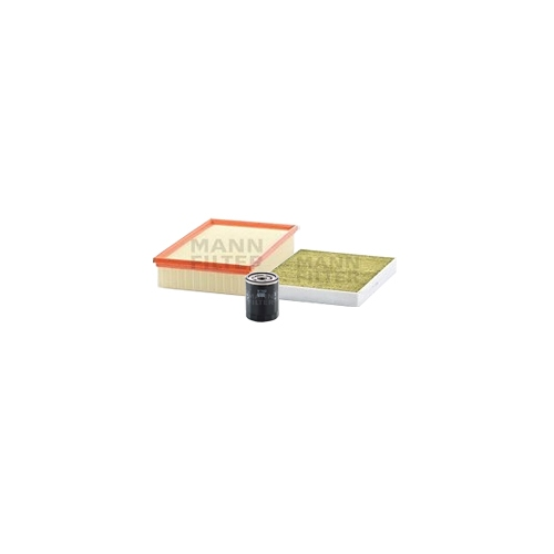 MANN-FILTER Filter Satz, Öl-,Luft und Innenraum-Filter Polyphenol VSF0238MAN