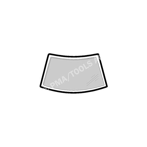 PMA TOOLS 301218121 Scheibenrahmen vorne, einteilig für Mazda 121 III