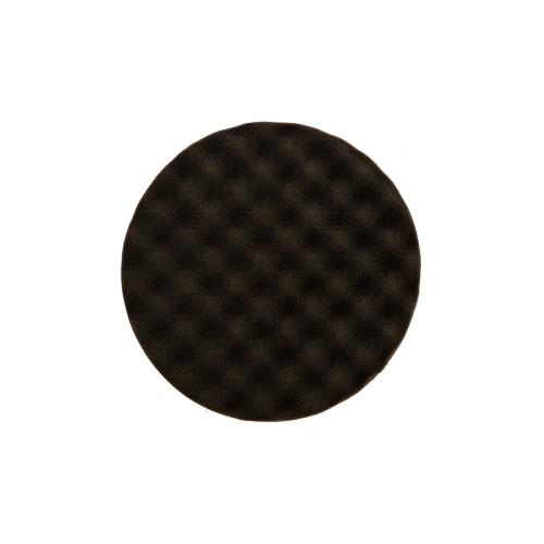 MIRKA Polierpad 150mm x 25mm schwarz gewaffelt weich Klett 2 Stück