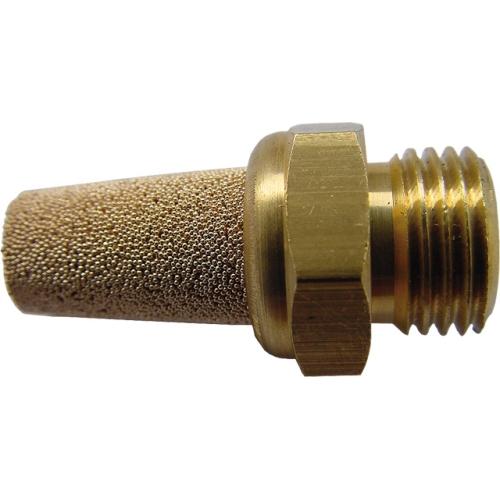 "EWO 573.1 silencer made of sintered bronze, 1/8 ""AG, length 28.5 mm, SW 13 mm"