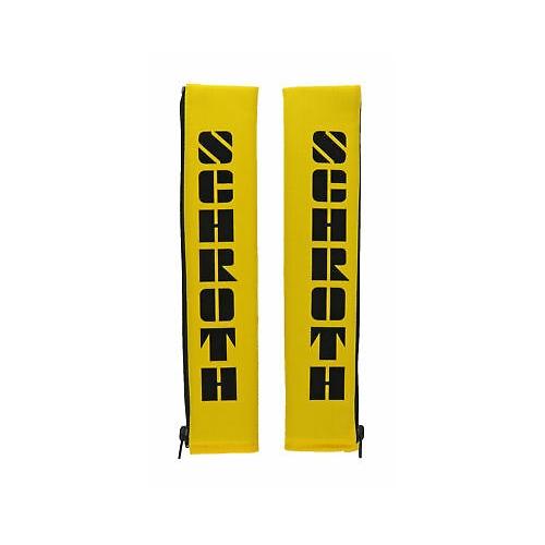 Schroth Safety 2 Zoll 50mm Gurtpolster Flock gelb Gurtschoner 03109