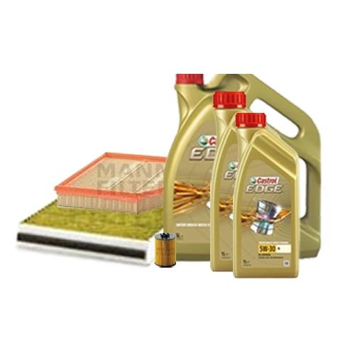 Inspektionskit Ölfilter, Luftfilter und Innenraumfilter + Motoröl 5W-30 M 8L