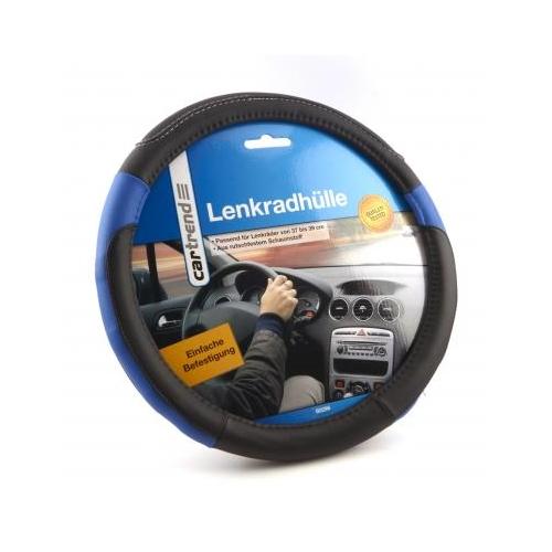 Cartrend Lenkradhülle 60296 schwarz/blau