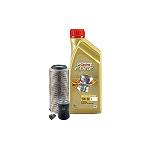 Inspektionskit Ölfilter, Luftfilter und Ablassschraube + Motoröl 5W-30 LL 5L