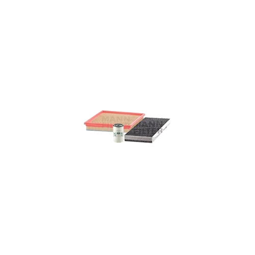 MANN-FILTER Filter Satz, Öl-,Luft und Innenraum Aktivkohle-Filter VSF0266MAN