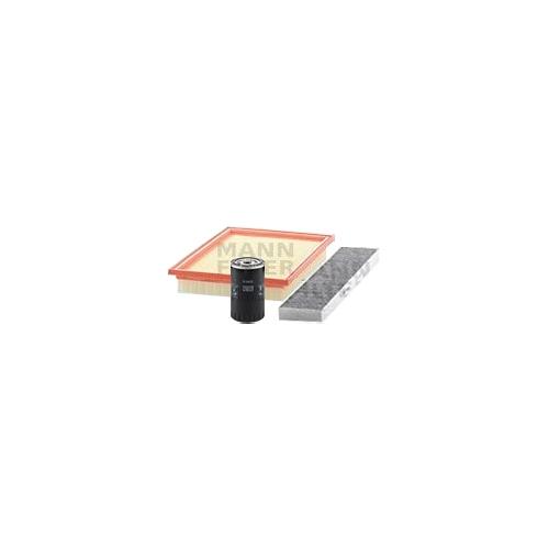 MANN-FILTER Filter Satz, Öl-,Luft und Innenraum Aktivkohle-Filter VSF0134MAN