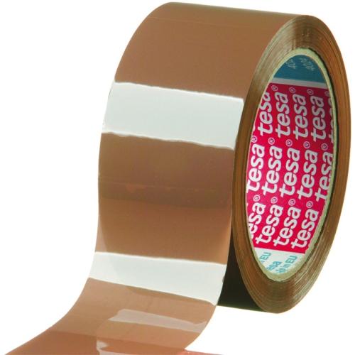 tesa 04024-00235-02 packing tape 4024, 50mm x 66m, brown