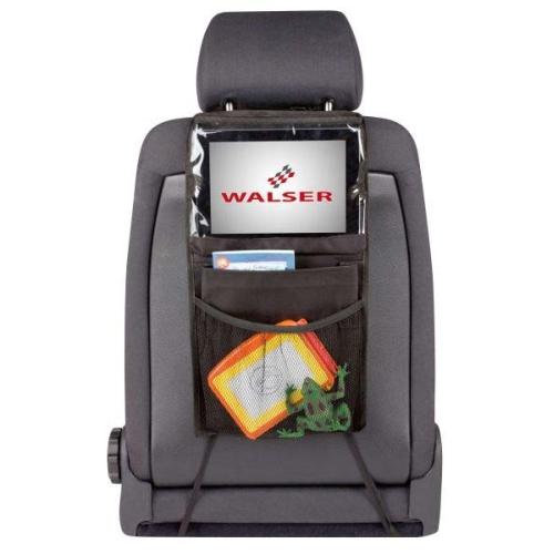 WALSER 26146 Rücksitztasche Midi, schwarz