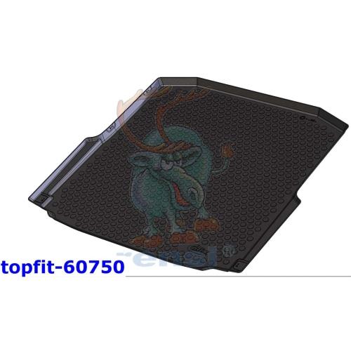 RENSI 60750 Kofferraumschalenmatte Gewicht 1700 g
